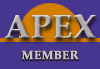 apex membership badge logo image